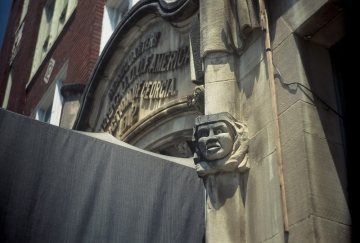 Gargoyle Above Main Entrance