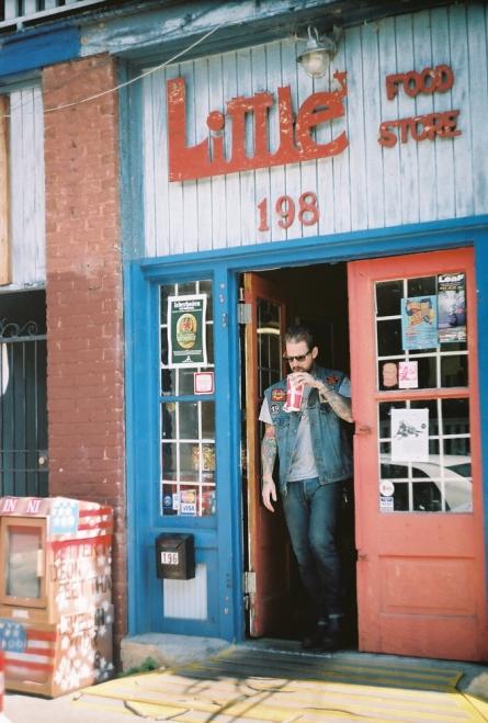 Littles Food Store Customer
