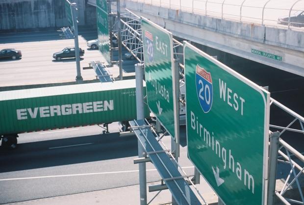 Evergreen Truck