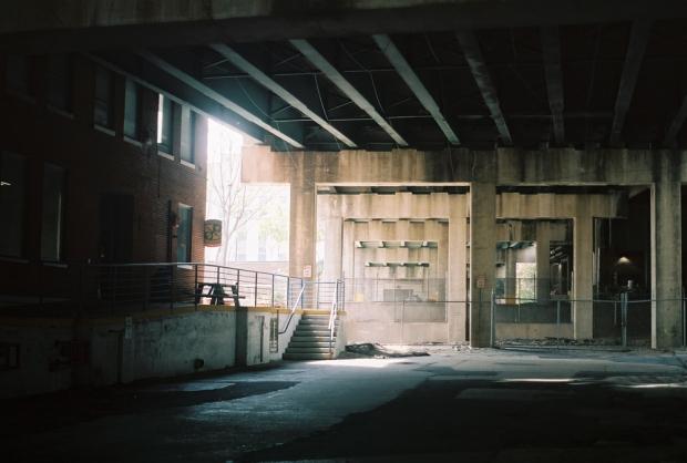 Underneath Courtland St