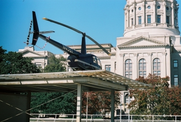Helicopter at the Capitol