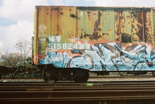 Rusted Train Car - 2