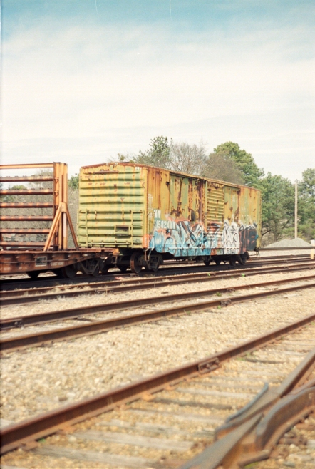 Graffiti and Rust